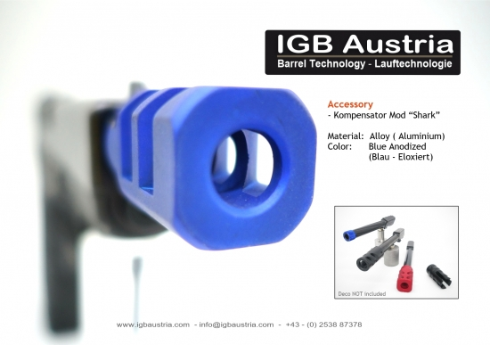 Kompensator for IGB Barrel